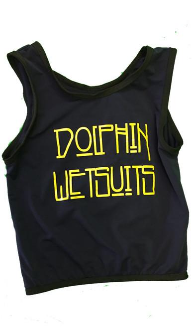Black w/ black trim and yellow logo