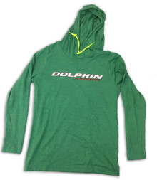 Green Long Sleeve T-Shirt Hoodie
