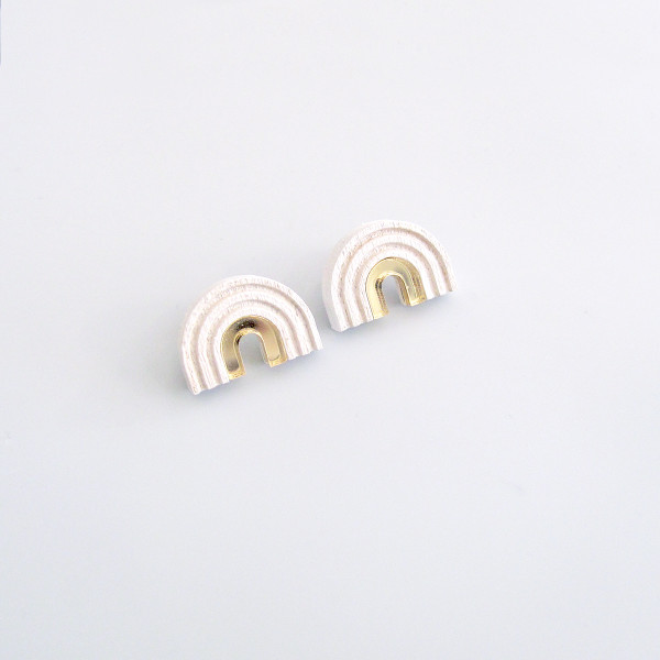 Arch Studs by Wolf and Moon at of cabbages and kings OC&K