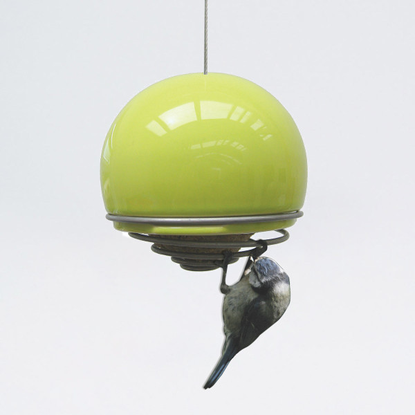 Birdball Belle Feeder by Green and Blue at of cabbages and kings