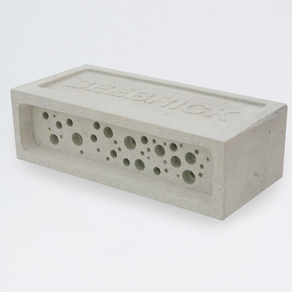 Bee Brick by Green and Blue at of cabbages and kings oc&k