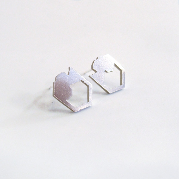 Pyren Silver Earrings by Promises Promises