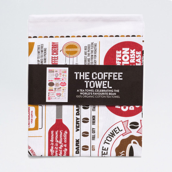 The Coffee Towel by Stuart Gardiner at Of Cabbages and Kings.