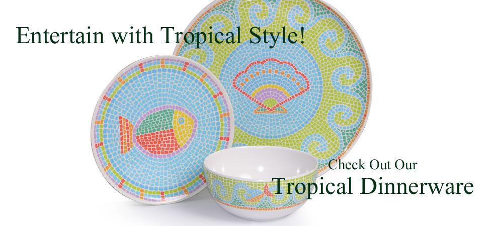 Tropical Dinnerware