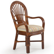 Islamorada Rattan Dining Arm Chair