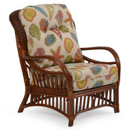 Islamorada Rattan High Back Chair Pecan Glaze