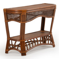 Islamorada Rattan Console Table