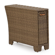 Kokomo Outdoor Wicker Storage Arm Oyster Grey