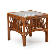 Bali Rattan Bunching Table Pecan Glaze