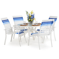 Cancun Strap 5pc Patio Dining Set