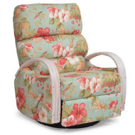 Islamorada Tight Back Swivel Glider Recliner Whitewash