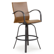 Empire Outdoor Wicker Barstool Bamboo