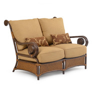 Tahiti Outdoor Wicker Loveseat