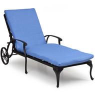 Trellis Cast Aluminum Chaise Lounge