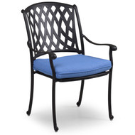 Trellis Cast Aluminum Dining Arm Chair