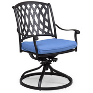 Trellis Cast Aluminum Dining Tilt Arm Chair