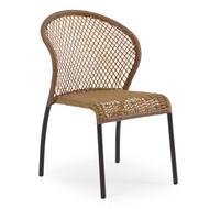 Empire Outdoor Wicker Bistro Dining Chair Cork