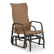Empire Outdoor Wicker Single Glider Cork