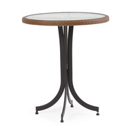 "Empire Outdoor Wicker 30"" Round Counter Height Table"