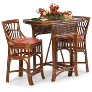 Islamorada Rattan Honeymoon 3 Piece Set