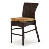 Kokomo Outdoor Wicker Bar or Counter Stool Tortoise Shell