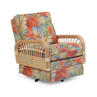 Islamorada Tight Back Swivel Rocker Natural