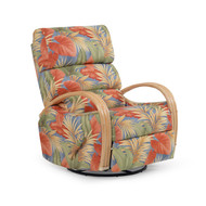 Islamorada Swivel Glider Recliner Natural