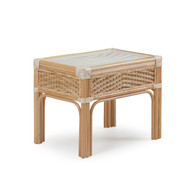 Islamorada Rattan End Table Natural