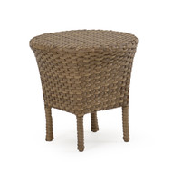 Kokomo Outdoor Wicker Tea Table Oyster Grey