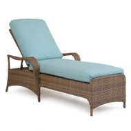 Kokomo Outdoor Wicker Chaise Lounge Oyster Grey