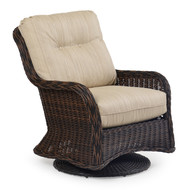 Maldives Outdoor Wicker Swivel Glider