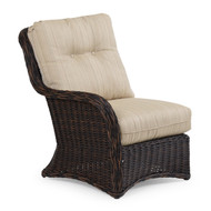 Maldives Outdoor Wicker Left Facing Arm Chair