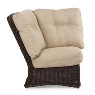 Maldives Outdoor Wicker 90 Degree Wedge Chair