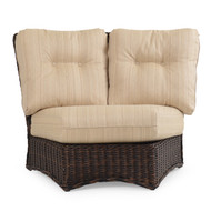 Maldives Outdoor Wicker 45 Degree Wedge Chair
