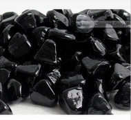 10 Pound Jar of  Zircon Fire Glass Black Diamond