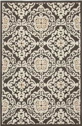 Spello Splendid Charcoal Indoor Outdoor Rug in Neutral