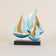 Sailboats On Stand