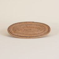 Woven Placemat Oval Natural