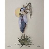 Sunrise Heron Wall Art