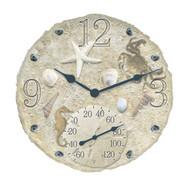 Outdoor or Indoor Clock & Therometer