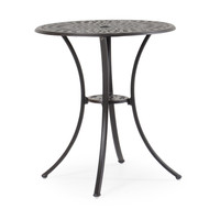 "Trellis Cast Aluminum 30"" Round Counter Table"