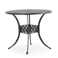 "Trellis Cast Aluminum 42"" Round Counter Table"
