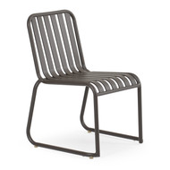 Beach Club Stackable Chair Charcoal