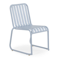 Beach Club Stackable Chair Smoke Blue