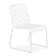 Beach Club Stackable Chair Textured White