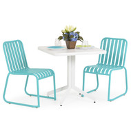 Beach Club 3PC Dining Set Turquoise