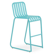 Beach Club Bar Stool  Turquoise