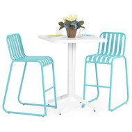 Beach Club 3PC Bar Set Turquoise