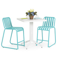 Beach Club 3PC Counter Set Turquoise