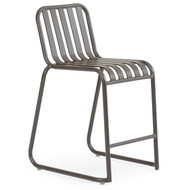 Beach Club Counter Stool Charcoal